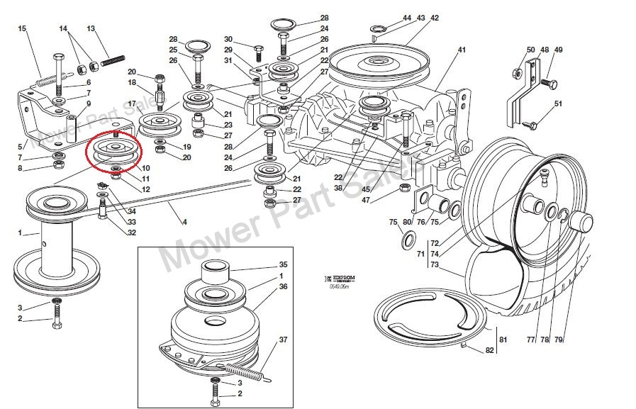 Manual Geared Transmission Drive Belt Kevlar Corded Fits Stiga Castel Garden Mountfield 1538m Sd98 Lawnking Ride On Mowers 1350620130 705 P together with T13296000 Carburetor govenor linkage 31g777 briggs besides Briggs And Stratton 120000 600 625 650 675 Series Generator Owners Manual additionally Murray 36 Mowing Deck Belt Diagram 390135 besides 8 Hp Briggs Stratton Engine Diagram. on murray riding mower parts diagram
